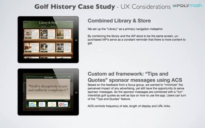 UX Case Study: App design considerations