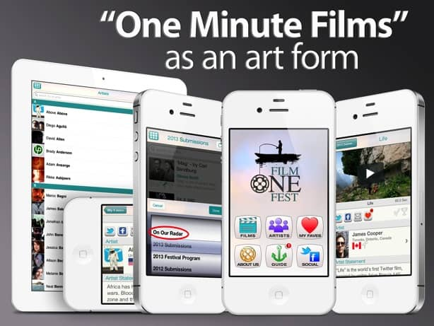 FilmeOneFest, a movie app for iPhone and iPad