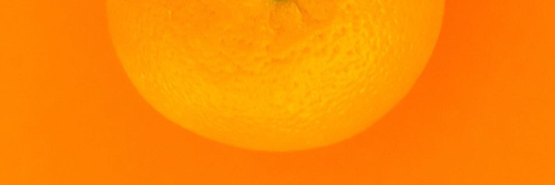 orange fruit with orange background